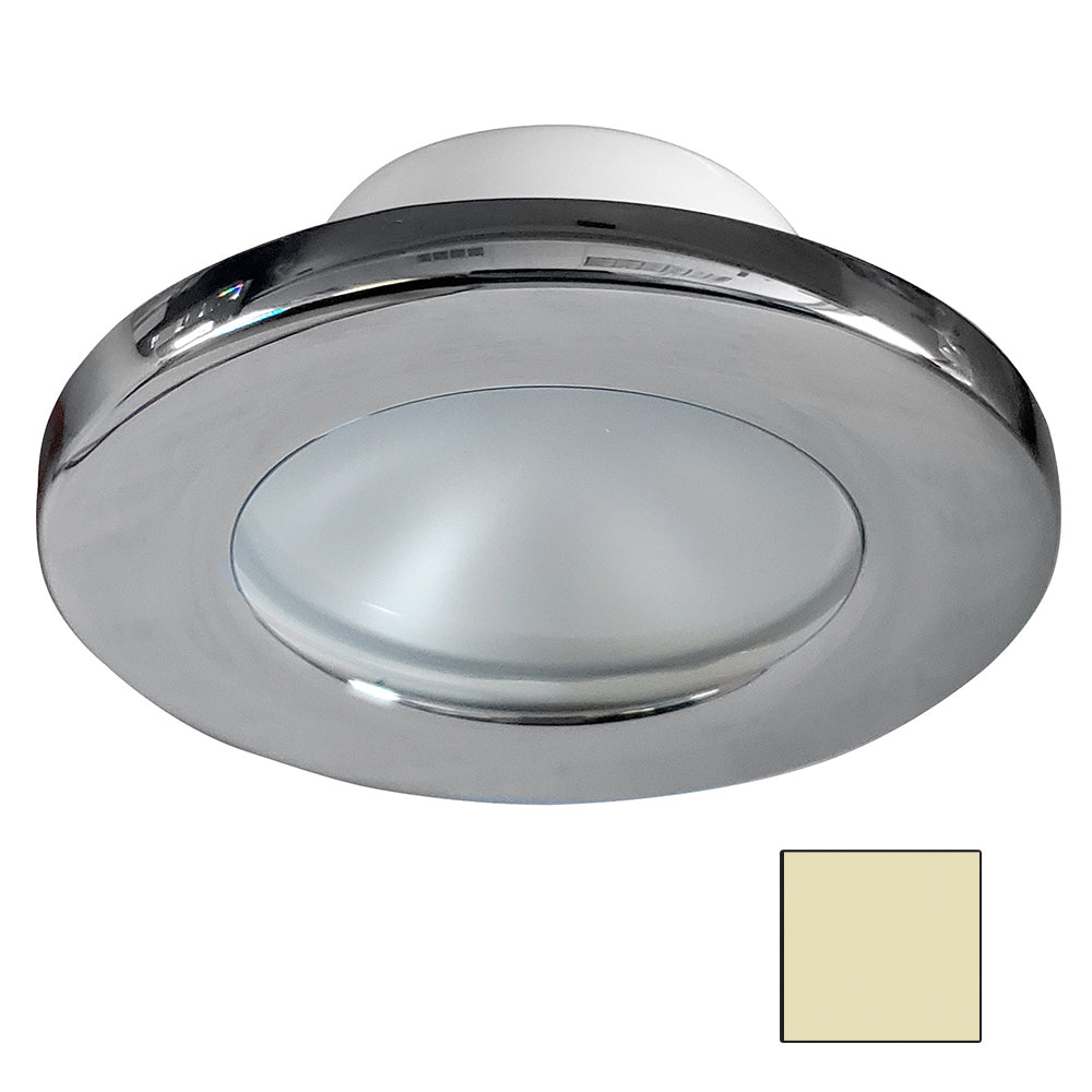 i2Systems Apeiron A3101Z 2.5W Screw Mount Light - Warm White - Polished Chrome Finish [A3101Z-11CAB]