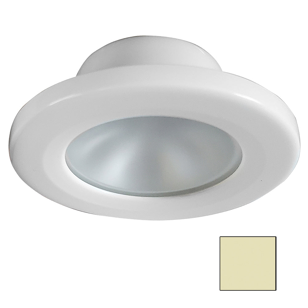 i2Systems Apeiron A3101Z 2.5W Screw Mount Light - Warm White - White Finish [A3101Z-31CAB]