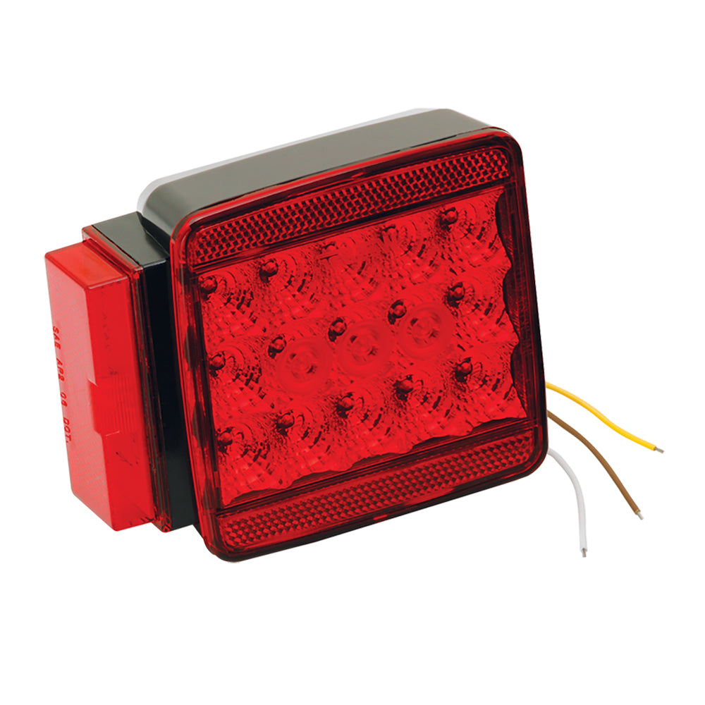 "Wesbar LED Left/Roadside Submersible Taillight - Over 80"" - Stop/Turn [283008]"