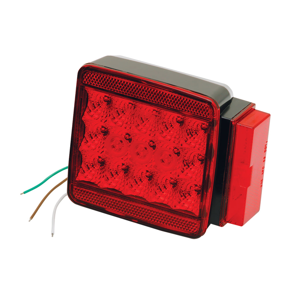 "Wesbar LED Right Roadside Submersible Taillight - Over 80"" - Stop/Turn [283058]"