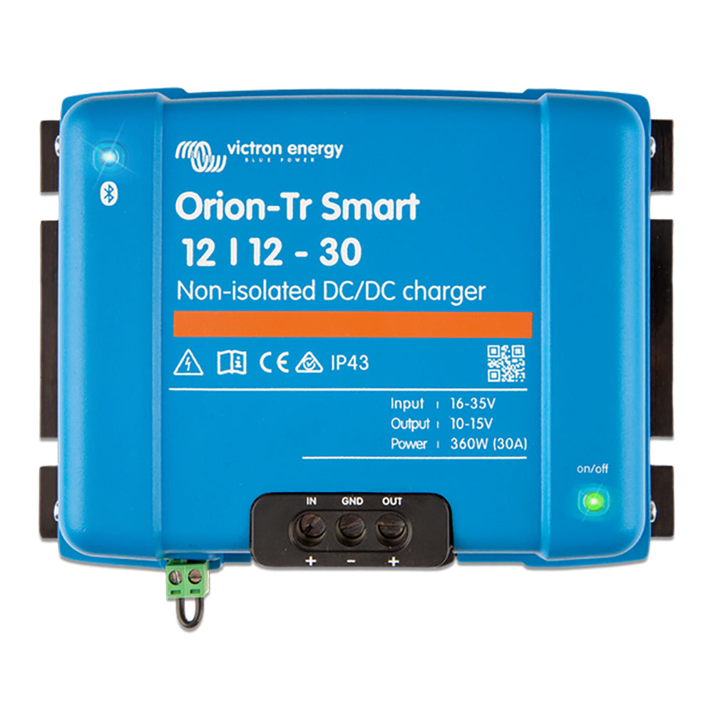 Victron Energy Orion-TR Smart 12/12-30 30A (360W) Non-Isolated DC-DC or Power Supply [ORI121236140]