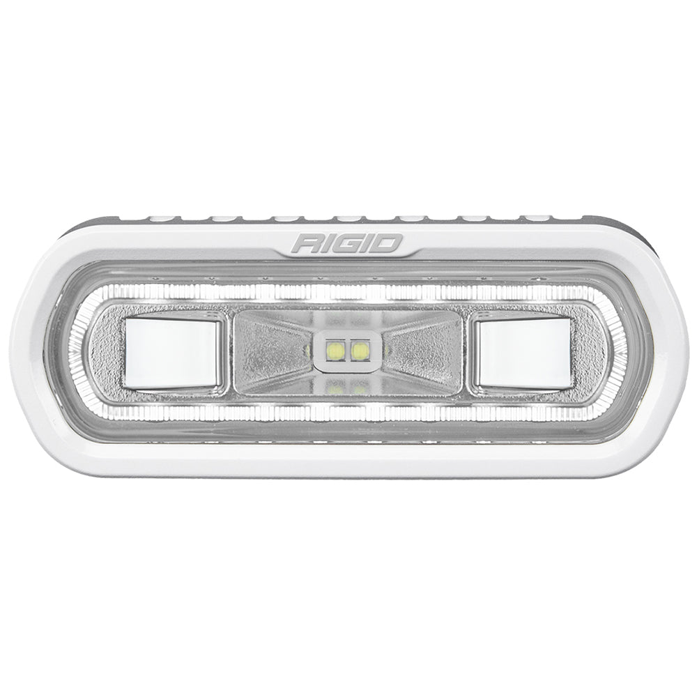 RIGID Industries SR-L Series Marine Spreader Light - White Surface Mount - White Light w/White Halo [51100]