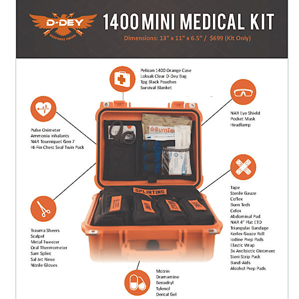 D-Dey EMS 1400 Medical Kit