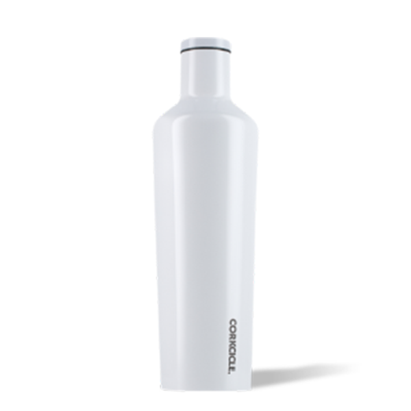 Sportfish Outfitters Engraved Corkcicle Canteen - 25oz Dipped Modernist White