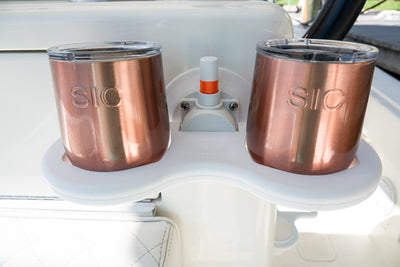 Seasucker 2-Cup Holder - Vertical Mount