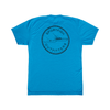 Sportfish Outfitters Super Soft Mens Caribbean Blue T Shirt