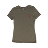 Sportfish Outfitters Super Soft Women's Olive Green T Shirt