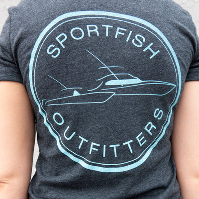 Sportfish Outfitters Super Soft Women's Charcoal Shirt