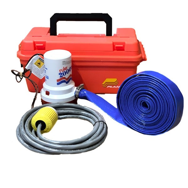 Emergency Crash Pump - Rule 2000 in 12v or 24v