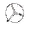 "GEM Products 13"" Steering Wheel with Knob"