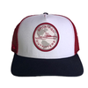 Sportfish Outfitters Globe Patriot Curved Hat