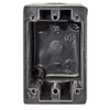 Hubbell Black Wallplate Box