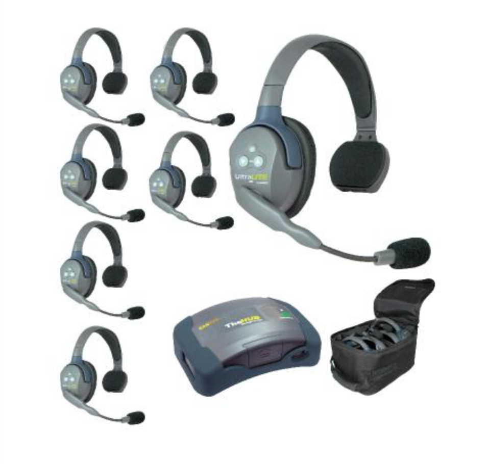 Eartec UltraLITE and HUB 7 Person System