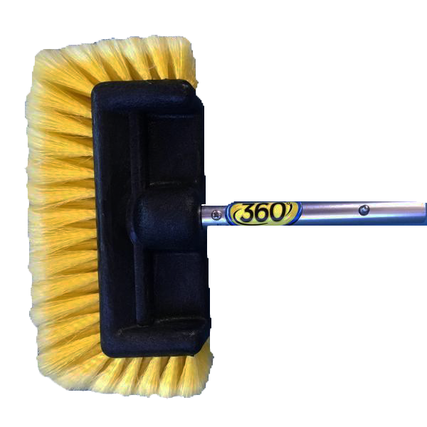 TD Products 360 Soft Brush Yellow Quick Connect