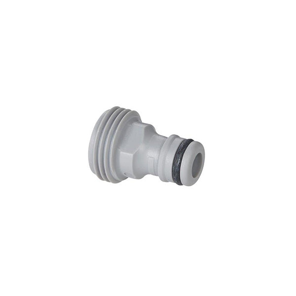 Gardena Hose Adapter Quick Connect to Male Thread - sold in 2pk [36001]