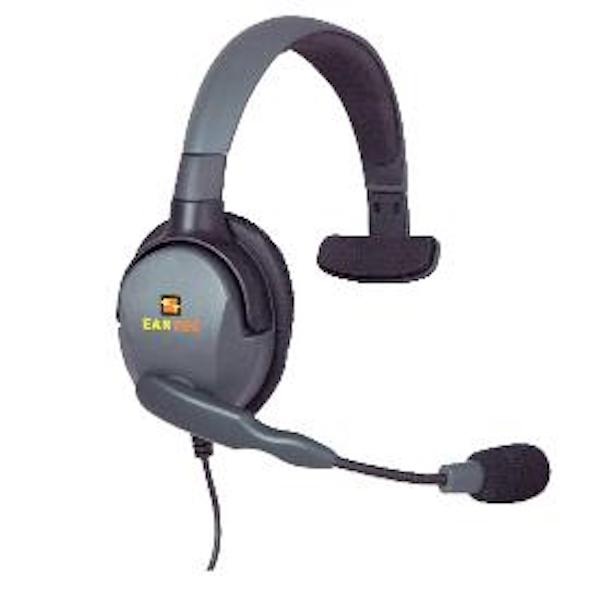 Max 4G Single Headset with Connector Cable