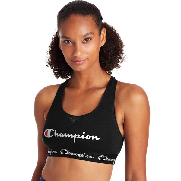 Champion The Authentic Sports Bra, Script Logo