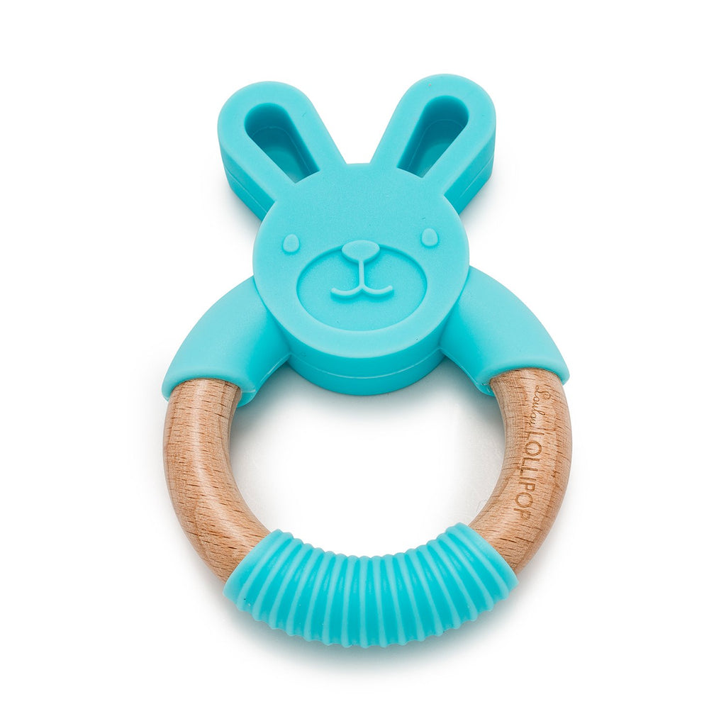 Loulou Lollipop Bunny Teether (2 Color)