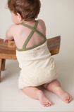 L'ovedbaby Organic Terry Cloth Overall in Sage