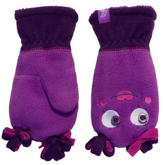 Calikids Girls Monster Mittens