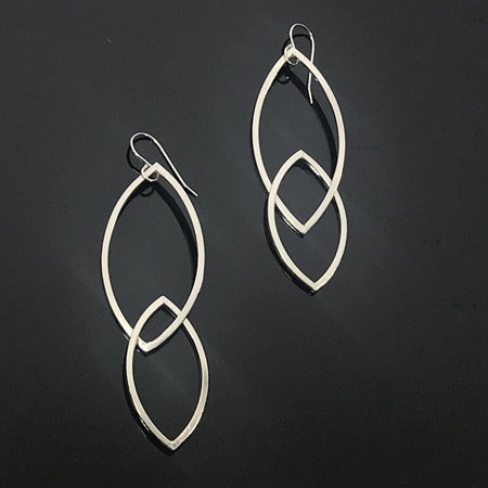 Argentium Audrey Earrings