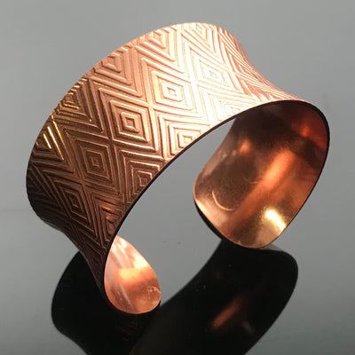 Copper Anticlastic Cuff