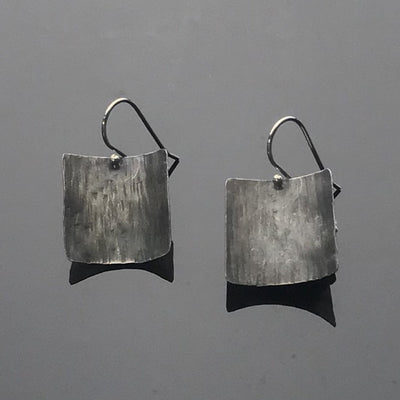 Square Moonlight Earrings by Marye Brenda