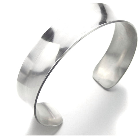 Silver Small Cuff - Anticlastic - Marye Brenda Jewelry Designs
