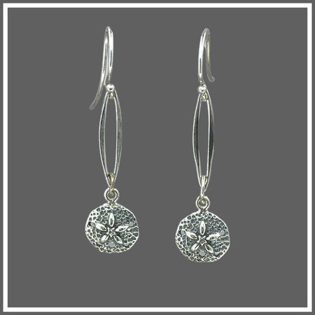 Silver Dollar Earrings