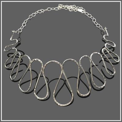 Sterling Silver Refinement Necklace by Marye Brenda