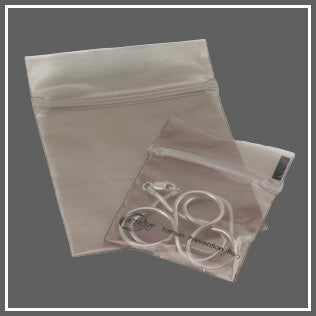 anti tarnish bags for silver and argentium silver jewelry by Marye Brenda