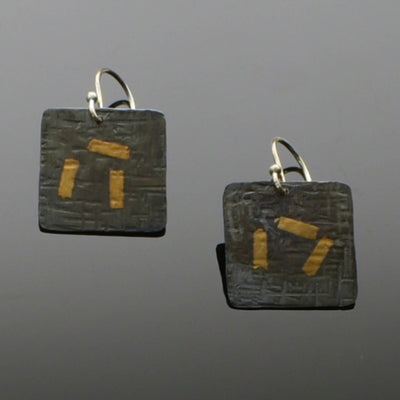 Keum Boo Earrings Textured