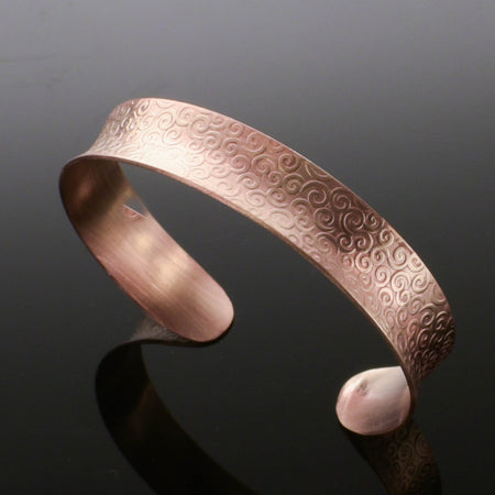 Copper Anticlastic Majestic Cuff