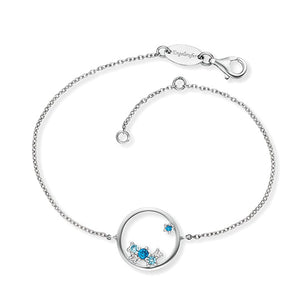 Engelsrufer Armband Cosmo Silber mit Zirkonia Multicolor