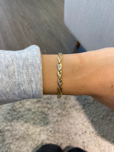 Armband Bicolor 14K Gold