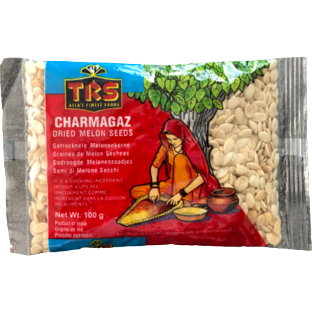 Dried Melon Seeds (Charmagaz) 100g - World Groceries