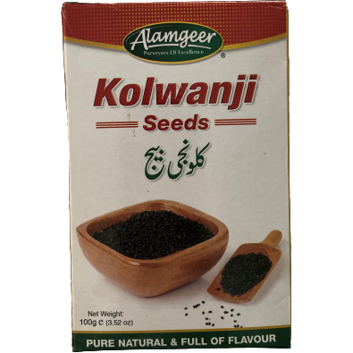 Nigella Seeds (Kolwanji) 100g - World Groceries
