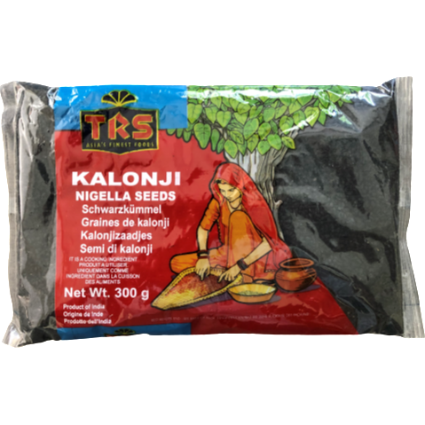 Nigella Seeds (Kalonji) 300g - World Groceries