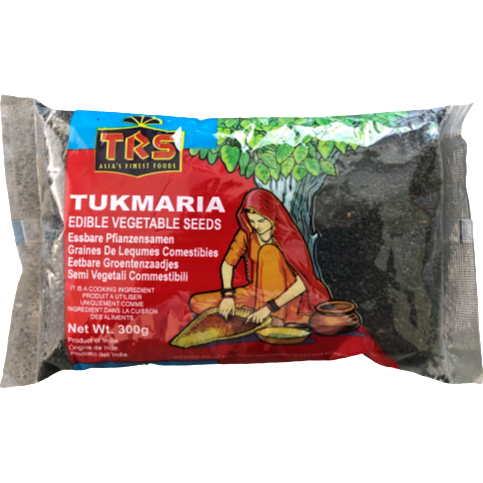 Basil Seeds (Tukmaria) 300g - World Groceries