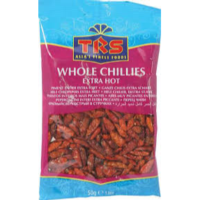 Whole Chillies Extra Hot 50g - World Groceries