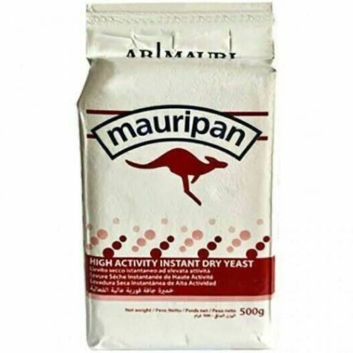 Instant Dried Yeast Mauripan 500g - World Groceries