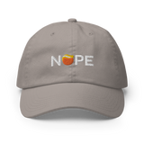 Nope Dad Hat