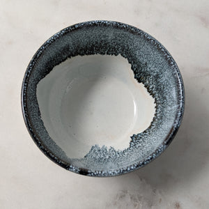 Galaxy Grey Ice Cream Bowl