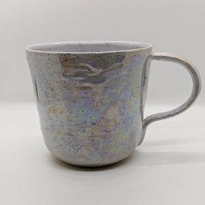 Purple Shimmer Cat Mug - 28 ounces