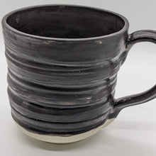 Load image into Gallery viewer, Matte Black Textured Mug