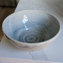 Load image into Gallery viewer, Large Watercolour Blue Bowl