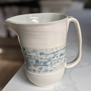 Blue and White Water Jug