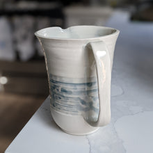 Load image into Gallery viewer, Blue and White Water Jug