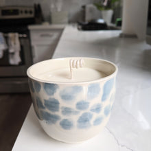 Load image into Gallery viewer, Blue Leopard Candle
