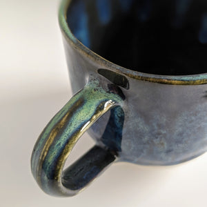 Ocean at Night Small Mug
